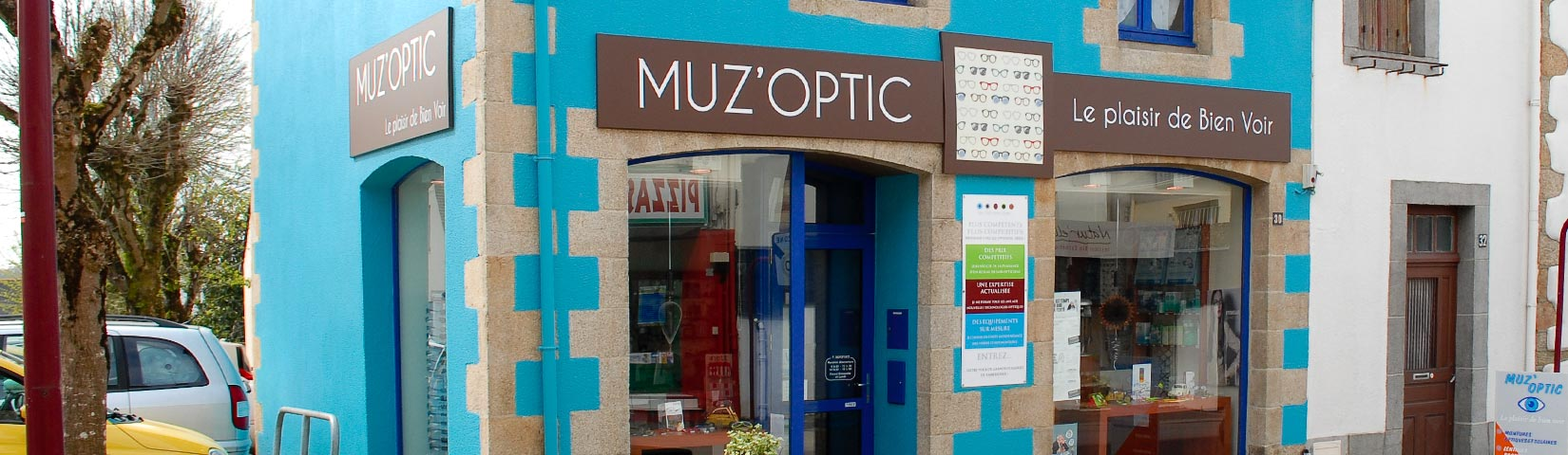 Muz'Optic : magasin de lunettes à Muzillac